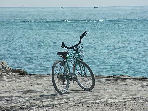 Biking along the Florida Coast