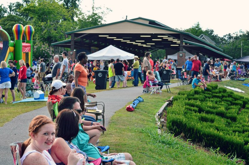 4th of July Celebration at Madison Street Park in Marianna