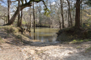 Canoe Launch at Hinson Recreation Area along the Chipola River Greenway