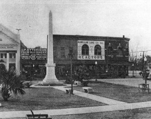 Confederate battle monument